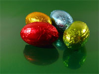 low calorie easter eggs