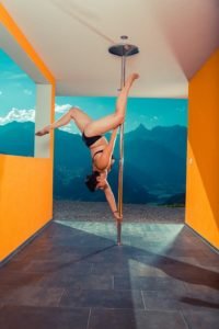 pole dancing to lose weight